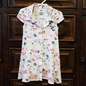 💜2for$10!💜Old Navy button-up A-line dress, 3T